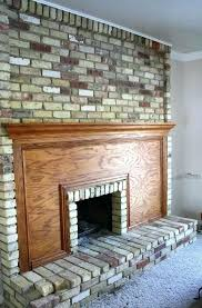 cleaning brick fireplaces brick fireplace cleaner charming how to clean brick fireplace part 6 cleaning brick