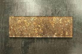 subway tile copper brown glass mosaic wall kitchen sugar
