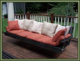Diy Porch Swing Diy Porch Swing Beds With Lime Green Mattress And Chic Pattern Of
