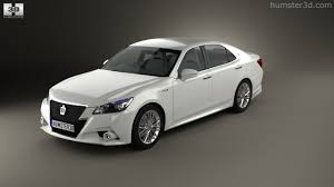 360 view of Toyota Crown Hybrid Athlete 2013 3D model - Hum3D store