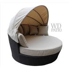 wd patio tao day bed beige wd tao5422