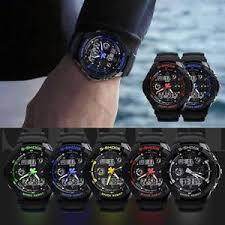 s shock watch sport quartz wrist men mens analog digital s image is loading s shock watch sport quartz wrist men mens
