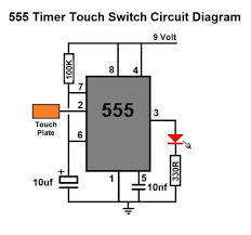 light touch switch circuit hostingrq com light touch switch circuit 555 timer touch switch diy circuit kit lighting