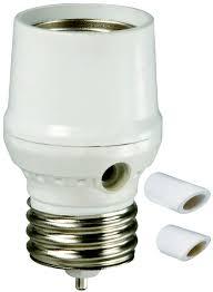 Amertac Slc5bcw 4 Westek Light Control Photocell Dusk To Dawn Socket For Cfl Halogen Incandescent And Led White