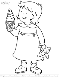 47 Elegant Caillou Coloring Pages Logo And Coloring Page