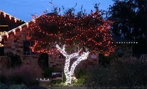 tree lights landscape tree wrap with red white led tree landscape lights