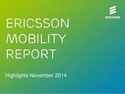 Ericsson Mobility Report November 2014 :에 대한 이미지 검색결과
