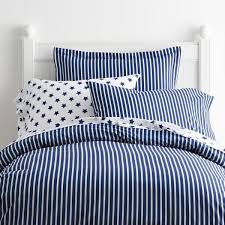 company kids by the company aiden stripe cotton percale blue tide twin duvet cover 30205d t bl tide the home depot