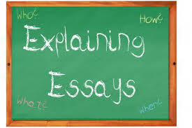 how to write an explaining essay  letterpile explaining essays answer who what how
