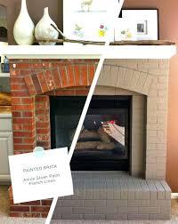 fireplace brick paint brick painting ideas best painted brick fireplaces ideas on brick painting brick fireplace