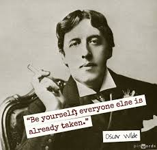 Oscar Wilde Be Yourself Quote