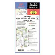Waterproof Charts Maptech Wpc005 Cape Cods South Shore And Buzzards Bay Waterproof Chart