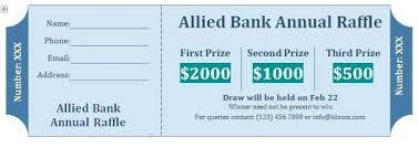 Draw Tickets Template Free Door Prize Ticket Template Beautiful Door Prize Drawing Slips