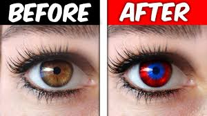 Change Your Eye Color Trick It Works Omg
