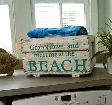 coastal decor beach nautical decor diy decorating crafts shopping completely coastal blog 13 beach makeovers with words sayings painted onto boxes beach house furniture decor