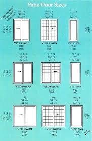 standard sliding patio door size average width of sliding glass doors standard standard patio sliding door height