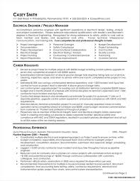 Resume Electrical Engineer Electrical Engineer Resume Template Resume Idea 2