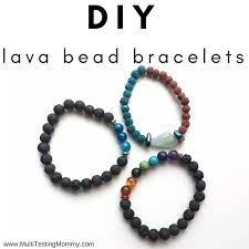 lava bead bracelet how to make your