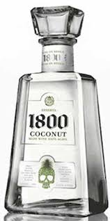 1800 reserva 100 agave coconut flavored tequila