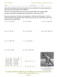 writing linear equations in standard form worksheet