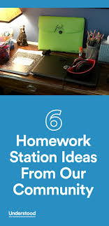 best ideas about homework tips writing 6 homework station ideas from our community