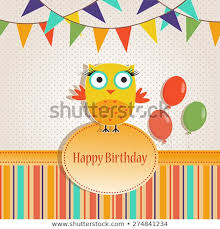 Happy Birthday Card Templates Free Classy Template Greeting Card Invitation Birthday Other Stock Vector