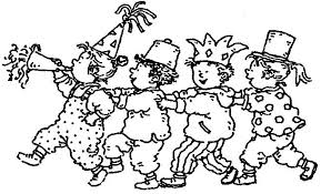Carnival Colouring Carnival Games Coloring Pages Carnival Masks