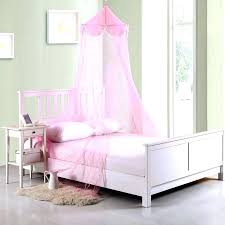 Canopy Twin Bed Girls Kids Furniture Beds For Little Set With White
