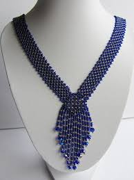 <b>Necklace</b> Resplendent ultramarine Long <b>Necklace</b> Handmade | Etsy ...