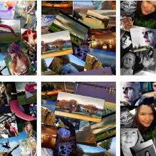example of collage example photo collage created by placing a number of photo images on