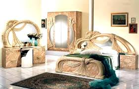 Bedroom Italian Furniture Furniture Bedroom Set White Lacquer ...