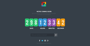 countdown templates pixp countdown coming soon template by creative_era themeforest