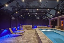 pool enclosure lighting. nebula led lights screen enclosures jacksonville pool enclosure lighting r
