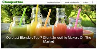 a list of quietest blender on the