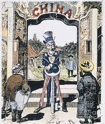open door policy. 1900 Photograph - Open Door Cartoon, By Granger Policy O