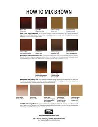 what colors make brown the ultimate