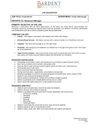 Starbucks Job Description For Resume Barista Job Description Duties Job And Resume Template 9