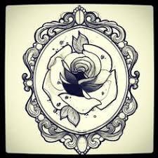 oval filigree frame tattoo. Oval Victorian Frames Tattoo - Google Search Filigree Frame A
