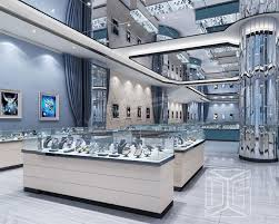 Popular Items For Jewelry Showcases Jewelry StandsDG Funiture Mesmerizing Jewelry Store Interior Design Plans