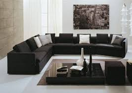 Furniture Elegant Natalie Captivating Black Living Room Set Home