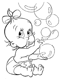 Kids coloring pages free cute printable. Free Printable Coloring Pages Of Babies Coloring Home