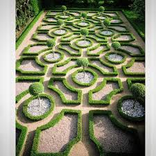 French Parterre Garden Design This Parterre Is By Comparison To Others Quite Simple In