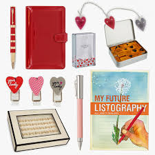 valentines ideas for the office. valentines day gift ideas for the stationery addict in your life office