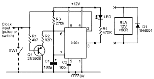 monostable circuits nuts volts magazine for the figure 20 event failure alarm or missing pulse detector led or relay output