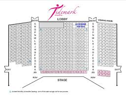 Seating Plan Tidemark Theatre