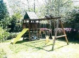 backyard fort plans simple swing set how to build endeavor wood architectural digest kitchens basic w