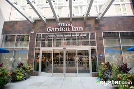 entrance at the hilton garden inn new york west 35th street