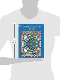 Decorative Tile Designs Dover PublicationsDecorative Tile Designs Coloring Book Dover 56