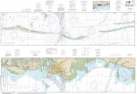Noaa Intracoastal Waterway Charts Noaa Chart Intracoastal Waterway Dauphin Island To Dog Keys Pass 11374