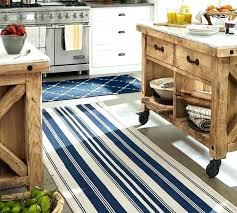 striped indoor outdoor rugs oxford stripe recycled yarn rug blue pottery barn